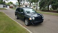 2008 Jeep Compass 4x4 w/Starter + Low Kms Only $6600