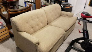 Lounge furniture - pull out couch, Coffee tables, leather chairs