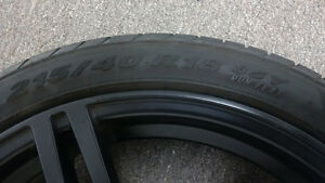 MSR Twin Spoke Wheels w/Pirelli Run Flats Cambridge Kitchener Area image 5