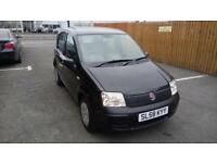"FIAT PANDA 1.1 ACTIVE 5 DOOR 2008 ""58"" REG 51,000 MILES FACTORY BLACK METALLIC"