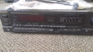 Sterio receiver and amp for sale
