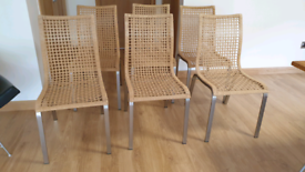 6 Dining Room or Kitchen Chairs