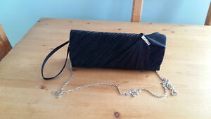 BLACK CLUTCH PURSE FROM LE CHATEAU