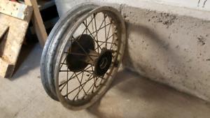 KLR650 Rear wheel