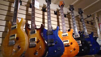 Guitares Paul Reed Smith SE