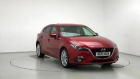 2015 Mazda 3 2.0 Sport Nav 5dr Petrol red Manual
