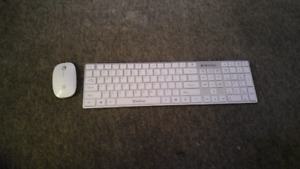 Wire less keyboard + wire less mouse