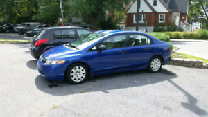 Automatiaue Honda Civic 2006 Berline 2300$ ferme