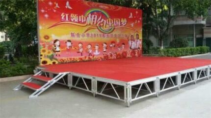 Brand new mobile commercial stage for sale in a lot 22 sqm $7000