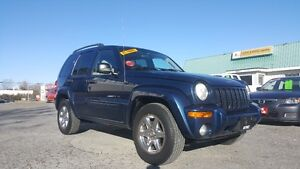 JEEP LIBERTY LIMITED 4X4 *** FULLY LOADED *** CERT $4995