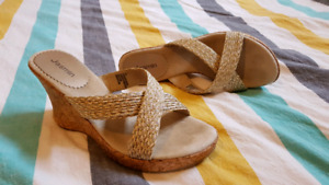 Wedge Sandals - size 9