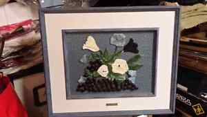 Stain glass fusion wall picture ONE OF A KIND Kitchener / Waterloo Kitchener Area image 2