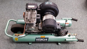 Hitachi Electric Wheelbarrow Compressor