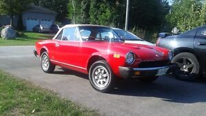 1880 FIAT 124 Spider 2000 Fuel Injection
