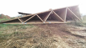 Large roof trusses
