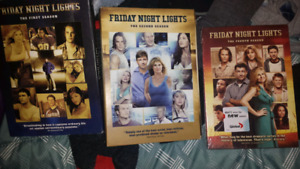 Friday Night Lights seasons 1,2 and 4