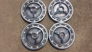 Vintage SS Hubcaps