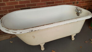 clawfoot tub kijiji free classifieds in toronto gta find a job buy a car find a house or. Black Bedroom Furniture Sets. Home Design Ideas