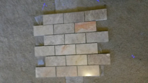 Left over mosaic tile $35