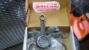 new wheeler stock car gm rod set(8) 5.7 350..