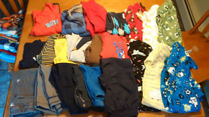 Box of 18 Month Boy clothes (23 items of clothing)