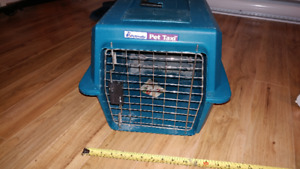 """Pet carrier, 20"""" X 14"""" X 12"""", Used, $12"""