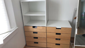 2 IKEA CHEST of DRAWERS 80$ big one 40$ small one?