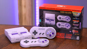 SNES CLASSIC 2 CONTROLLERS $200, Barely played.