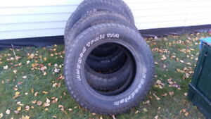 Tires 265 75 R 18