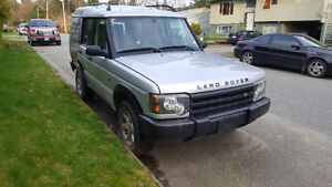 2003 Land Rover Discovery SUV, Crossover**DAMAGED**