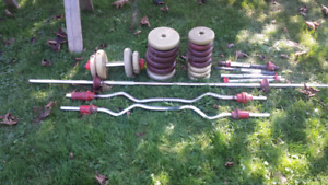 Bars and weights