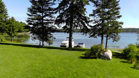 10 Acres, 416 Feet on French River, 4 bedrooms, MOVE IN READY