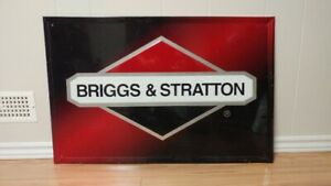 Vintage Briggs & Stratton Advertising Sign