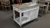 Mobile Kitchen Island - New