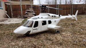 Bell 222 scale RC helicopter. RTF