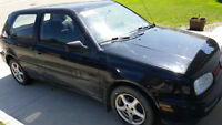 1997 Volkswagen Golf Coupe (2 door)