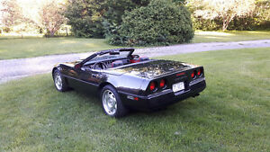 Clean and original 1988 Corvette Roadster, price reduced to 7500