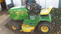 "John Deere 165 lawn tractor w/ a 38"" deck  SPRING SPECIAL!!"