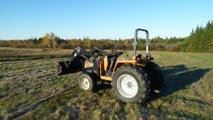 4x4 tractor 30 hp diesel with loader