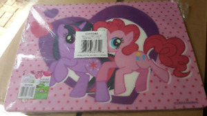 My Little Pony placemats (1 set - brand new)