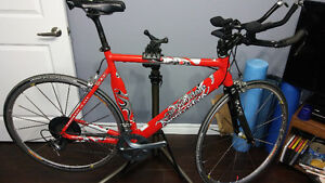 57 cm Cannondale ironman slice aluminum Tri Bike for sale