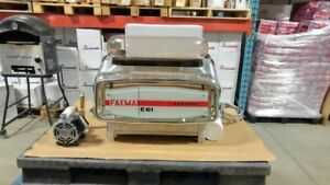 Faema E61, 2 group vintage espresso machine.