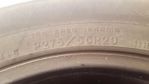 Used tires in good shape