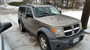 2007 Dodge Nitro 4x4 REDUCED