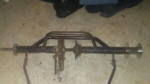 Wanted rear axle & wheels from old 3 wheeler adult tricycle