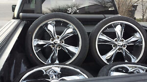 Fooze rims and new tires