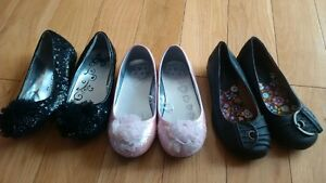 size 11 and size 9 ballet flats