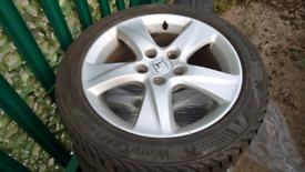 Alloy wheels honda accord 8