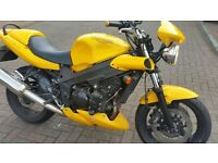 Triumph Speed Four 4 Yellow....Excellent Condition...Try Me