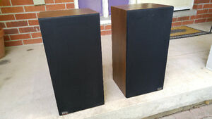 Vintage EMS-3 Speakers $25, woofer needs refoaming